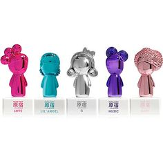 Harajuku Lovers by Gwen Stefani Online Only Pop Electric ~ Fragrances 5 Piece Gift Set ~ Harajuku Lovers Pop Electric Fragrances 5 Piece Gift Set was created with love by pop singer and fashion icon, Gwen Stefani. This set includes 0.5 oz. minis in all 5 scents: LOVE, LIL ANGEL, G, MUSIC and BABY.