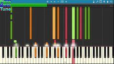 [MIDI Synthesia] Piano music Tune | Mariah Carey - One Sweet Day