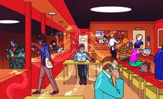 We took a hacker to a café and, in 20 minutes, he knew where everyone else was born, what schools they attended, and the last five things they googled.