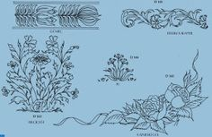 Emy's Gallery: Some Embroidery Patterns