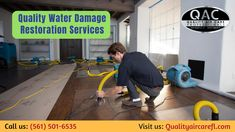 Are you looking for complete water damage restoration services? Our Quality Air Care professionals specialized in water removal and cleanup services for your home with customer satisfaction. For more information call us: or visit our website. Clean Air Ducts, Air Care, Duct Cleaning, Restoration Services, Delray Beach, Water Damage, Cleaning Service, How To Clean Carpet, Clean Up