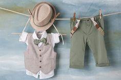 Βαπτιστικό Ρούχο Bambolino Rodolfo Kids Suits, Christening, Kids Fashion, Khaki Pants, Party, Summer, Bebe, Khakis, Fiesta Party