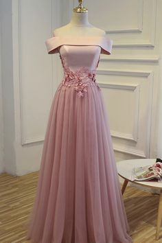 Cheap Pink Long Party Evening Dress 2017 Lace Up  Formal Prom Gown #longpromdresses #lacedresses #eveningdresseslong #promdresses2018