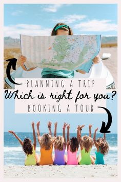 "If you want to travel but don't know where to even start, you're not alone! The number one question I am asked about traveling is ""Should I plan my own trip?"" I was in the same boat the first time I went to Europe, but I have now experienced both traveling with a tour group and planning a trip from scratch. So, should you try planning a trip or booking a tour? Read our pros and cons to each to find out!"