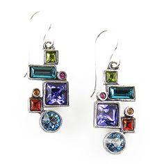 Syncopation Earrings in Silver Fling | Patricia Locke Jewelry $82