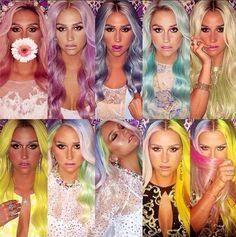 Kesha Rose Sebert is a Rainbow♥ #Kesha #Kesha_Sebert #Celebrities
