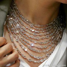 "KATERINA PEREZ (@katerina_perez) on Instagram: ""diamond necklace by Busatti Milano."