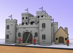 A model castle can be made from many different items, including cardboard, plaster, paper, plastic etc. This article demonstrates how to get started in creating your model castle from materials you have around the house. The rest is up to...