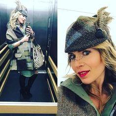#SaraTiara #SaraTiaraShop #PortobelloMarket #SaraTiaraCustomer #customer #CustomerPhoto #PortobelloRoad #PortobelloRoadShop #SaraTiaraHeadwear #SaraTiaraHats #millinery #HatShop #Nottinghill #handmade #HandmadeHat #OneOfAKindDesign #TweedHat #TweedHeadwear #TweedAndFeathers #TweedAndFeathersHat #TweedFashion #tweed #HarrisTweed #HarrisTweedHat #HarrisTweedFashion #HarrisTweedDesign #HeritageStyle