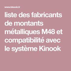 liste des fabricants de montants métalliques M48 et compatibilité avec le système Kinook M48, Wall Stud, Life Hacks