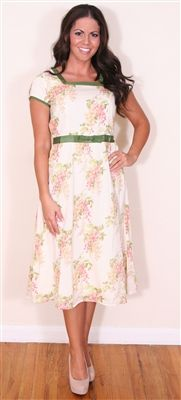 The Camille Modest Dress from NeeSee's Dresses