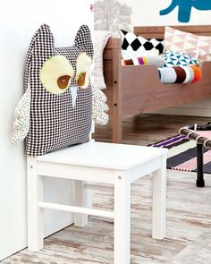 Diy: Cute owl for chair - video