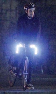 Bright Bike Handles  The GLOBARS Keep Riders Safe at Night #bikes
