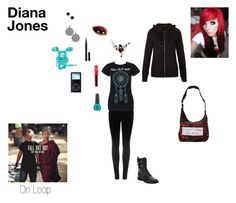 """""""Life with Emo Bands Set #4- Diana Jones"""" by mackenzie-lynn-ann-lilly ❤ liked on Polyvore featuring J Brand, Giuseppe Zanotti, Guerlain, Lime Crime, Kate Spade, OPI and New Look"""