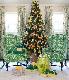 http://www.ireado.com/stylish-cheap-christmas-ornaments/?preview=true Stylish Cheap Christmas Ornaments : Yellow Christmas Tree Decorations Cheap Christmas Ornaments