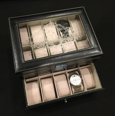 watch box watch case engraved watch display jewelry storage engraved watch box great gift idea giftidea watchcase