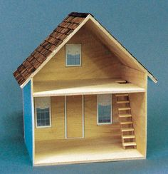 Alpine Farmhouse Dollhouse Kit