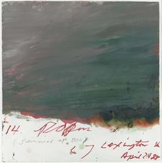 cy twombly drawings - Google Search