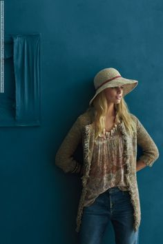 Marloes Horst for Anthropologie Catalog (August 2012) photo shoot
