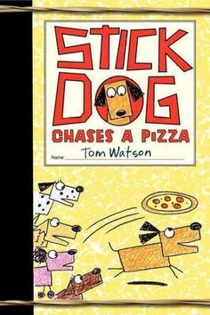 In Stick Dog Chases a Pizza , Tom Watson's hilarious follow-up to Stick Dog and Stick Dog Wants a Hot Dog , Stick Dog returns with the same crazy crew. This time these canine friends have discovered a