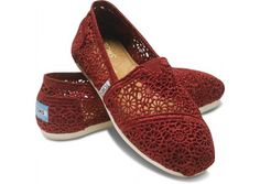 TOMS - with every pair you purchase, TOMS will give a pair of new shoes to a child in need. One for One.