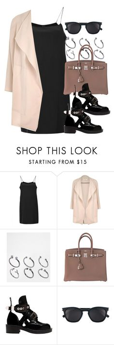 """Sin título #13161"" by vany-alvarado ❤ liked on Polyvore featuring Boutique, River Island, ASOS, Hermès, Balenciaga and Yves Saint Laurent"