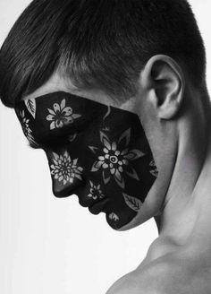 Floral-Faced Men : Attitude Spring Issue