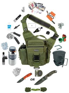 the best bag for a minimalist survival kit