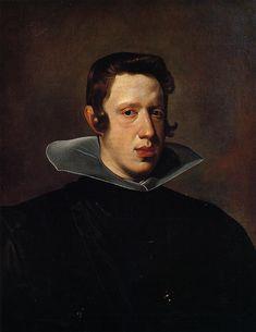 Philip IV, 1623 ~ Diego Velazquez (Spain, 1599 - 1660)