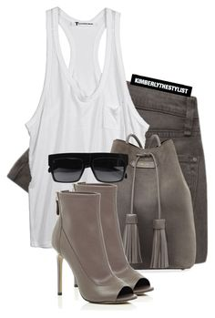 """""""Untitled #2073"""" by whokd ❤ liked on Polyvore featuring Marc by Marc Jacobs, T By Alexander Wang, Tom Ford, River Island and CÉLINE"""