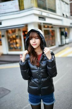 Down Parka, Down Coat, Puffer Jackets, Winter Jackets, Kim Seuk Hye, Korean Beauty, Ulzzang, Jackets For Women, Asian