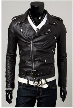 Faux Leather Beast Jacket