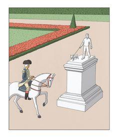 Para ser notável, é preciso ser diferente! Fifteen Minutes of Fame - Guy Billout - The Atlantic - www.priorart.com.br