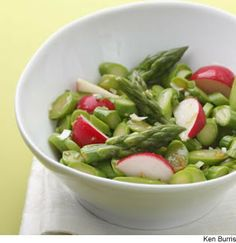 Asparagus and Radish Salad