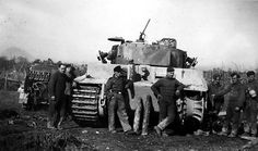 Tiger tank of the schwere Heeres Panzer-Abteilung 508, Italy