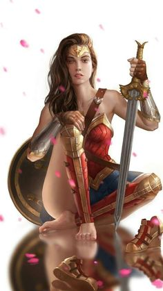 Do you can't get enough of Wonder Woman's overall awesomeness? Do you plan to unleash your inner superhero? Are you a die-hard fans of Wonder Woman? Marvel Dc Comics, Dc Comics Art, Azazel Marvel, Rogue Comics, Dc Comics Girls, Dc Comics Heroes, Marvel Avengers, Wonder Woman Kunst, Wonder Woman Art