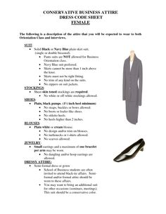 business dress code - Google Search