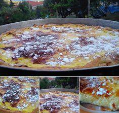 Φανταστική Τόσο λαχταριστη και πεντανοστιμη ΓΑΛΑΤΟΠΙΤΑ.. How To Make Cake, Recipies, Food And Drink, Lemon, Pizza, Cooking Recipes, Sweets, Cookies, Desserts