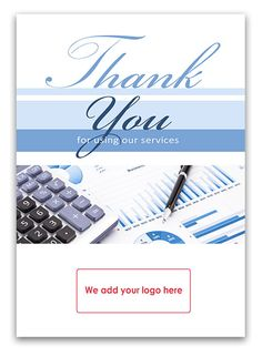 13 best thank you cards for financial advisors images on pinterest