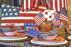 Independence Day table inspirations