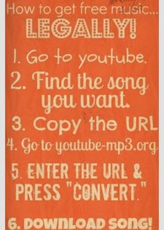 You Can Download Music From Youtube? For Free!Go on this website, copy the video Url,  Download and Done.