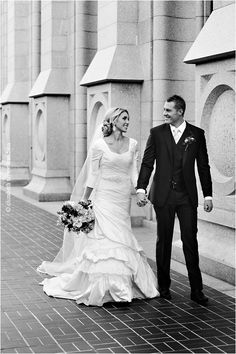 An All-Time Favorite - Stunning & Classy Modest Wedding Gown