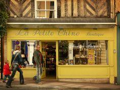 ysvoice:    ♕   Patisserie à Honfleur - Normandy   by © Boccacino