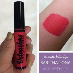 Australis VelourLips in 'BAR-THA-LONA': http://beautybliss.co.nz/shop/australis-velourlips-matte-cream-bar-tha-lona/