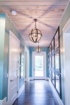 Modern lighting design entry foyer ideas hallway ceiling and. Hallway Light Fixtures, Hallway Lighting, Home Lighting, Hallway Ceiling Lights, Industrial Lighting, Industrial Style, Lighting Stores, Ceiling Lighting, Ceiling Fixtures