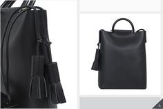 Today's Currently Coveting pick on www.enduringethereal.com is this sleek, luxurious black leather Business Bag from Building Block! www.enduringethereal.com