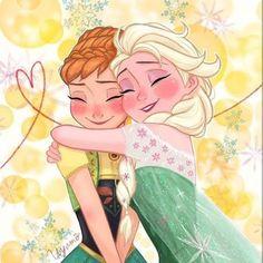 Frozen - Queen Elsa x Princess Anna - Elsanna Frozen Love, Frozen Fan Art, Frozen And Tangled, Disney Frozen, Frozen 2013, Anna Y Kristoff, Anna Y Elsa, Frozen Elsa And Anna, Frozen Queen