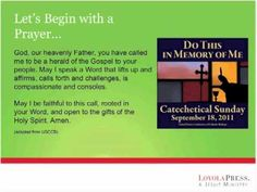 Primary Age Children - Section 1: Introduction to the Catechist Webinars