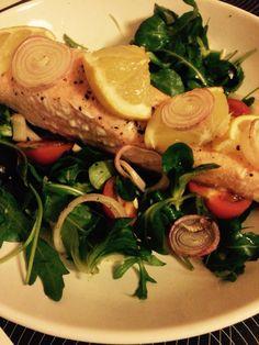 Simply salmon ❤️