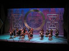 Set Design and Construction: Thoroughly Modern Millie